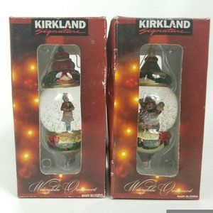 Kirkland Signature Christmas Snowglobe Waterglobe